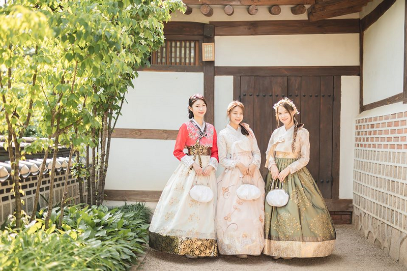 Trang phục Hanbok Hàn Quốc